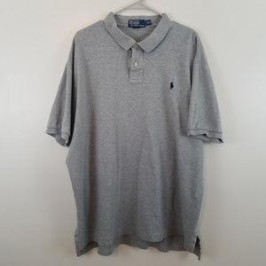 Polo Ralph Lauren Short Sleeev Gray Polo Shirt